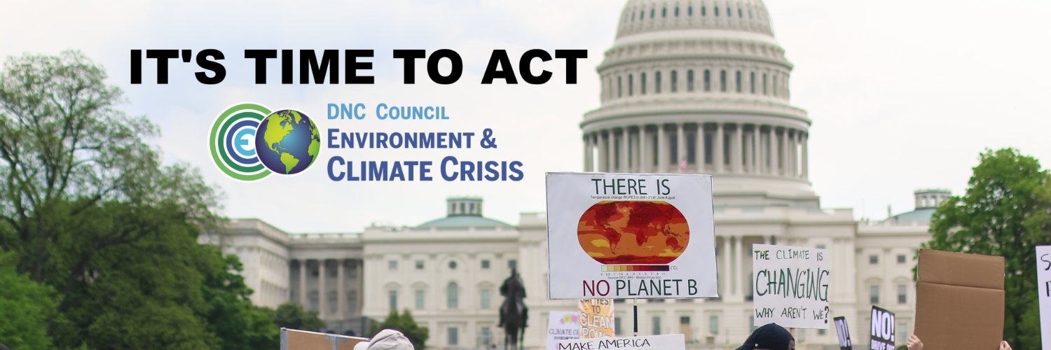 A voice and forum in the Democratic Party for tackling the climate crisis and environmental issues.