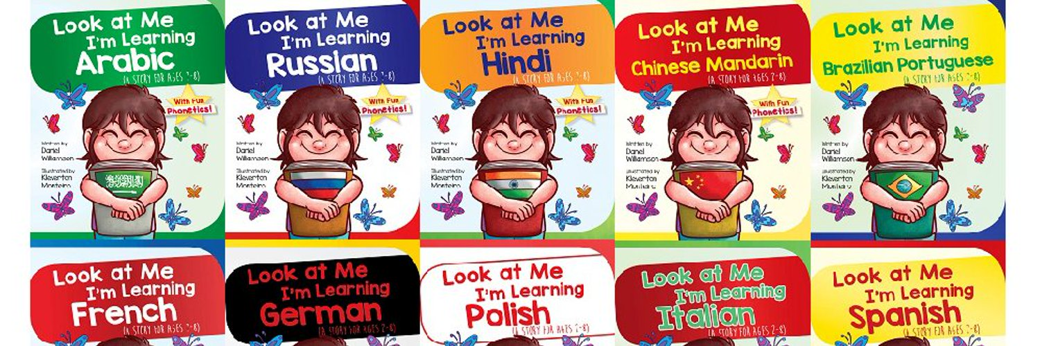 Author of the 'Look at Me I'm Learning' bilingual picture book series to introduce young children to new languages! Check out my website danielwilliamson.co.uk