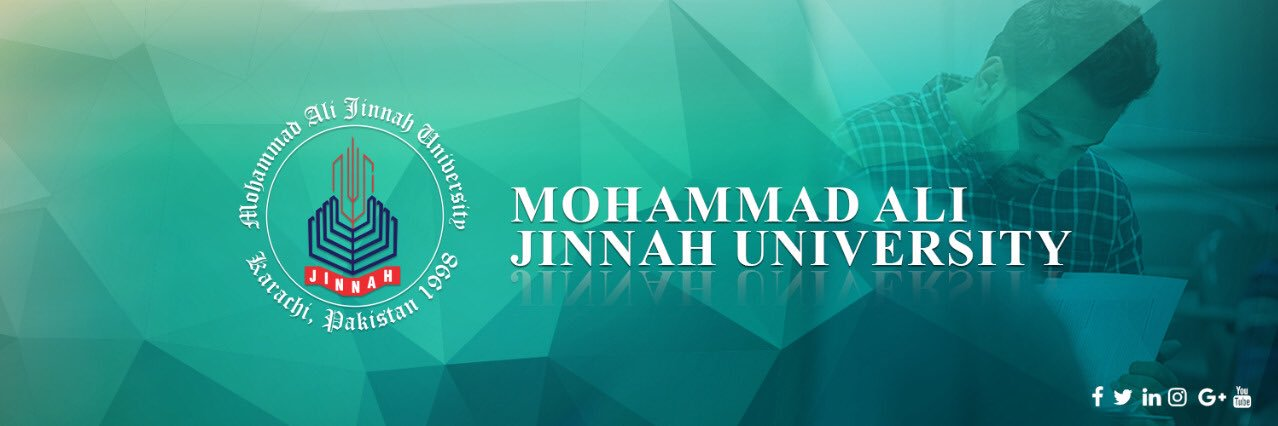Mohammad Ali Jinnah University's official Twitter account