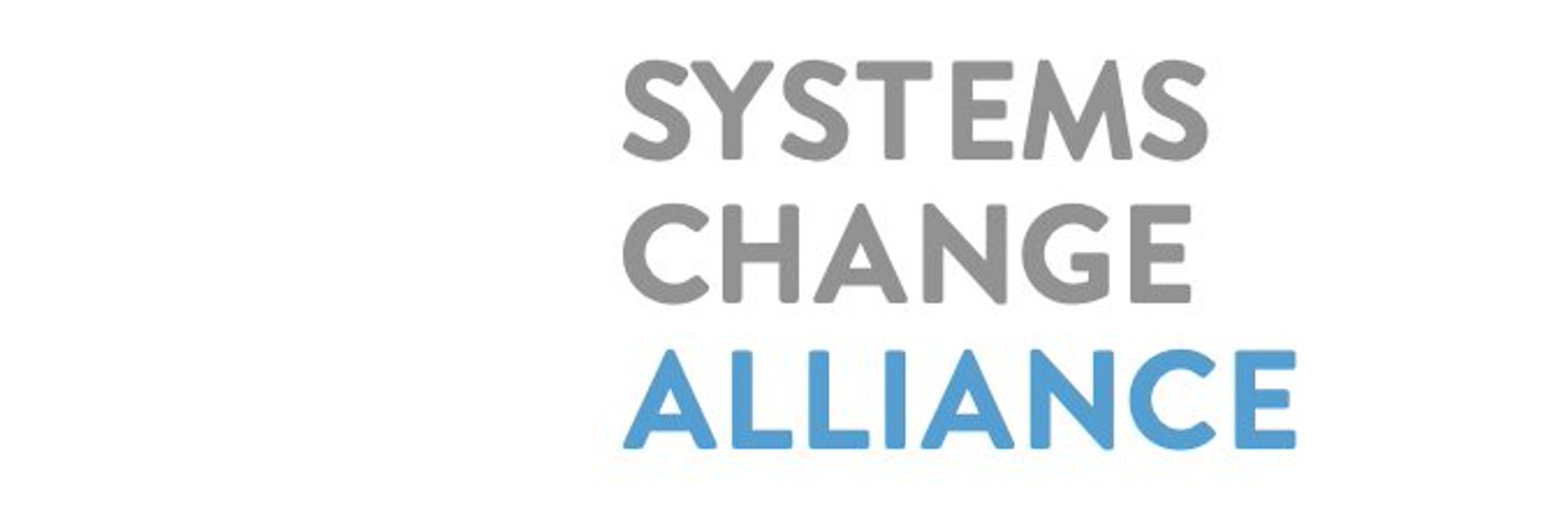 Systems Change Alliance, a platform to unite progressive people and organizations to create planetary systems change.