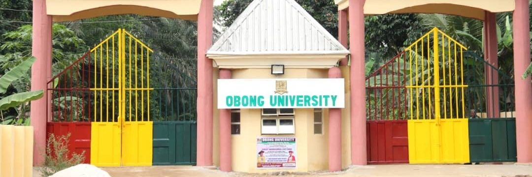 Obong University's official Twitter account