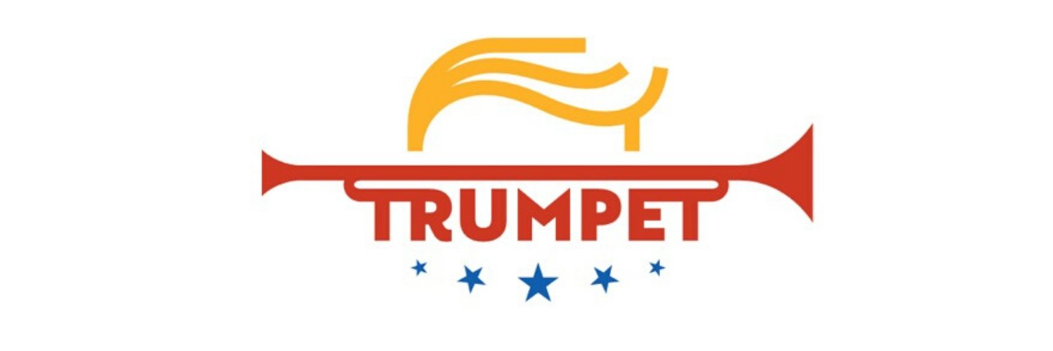Conceived on the 4th of July, 2019. Debuting on Kickstarter in February 2020. The Real Trump Trumpet by Political Partying, LLC.