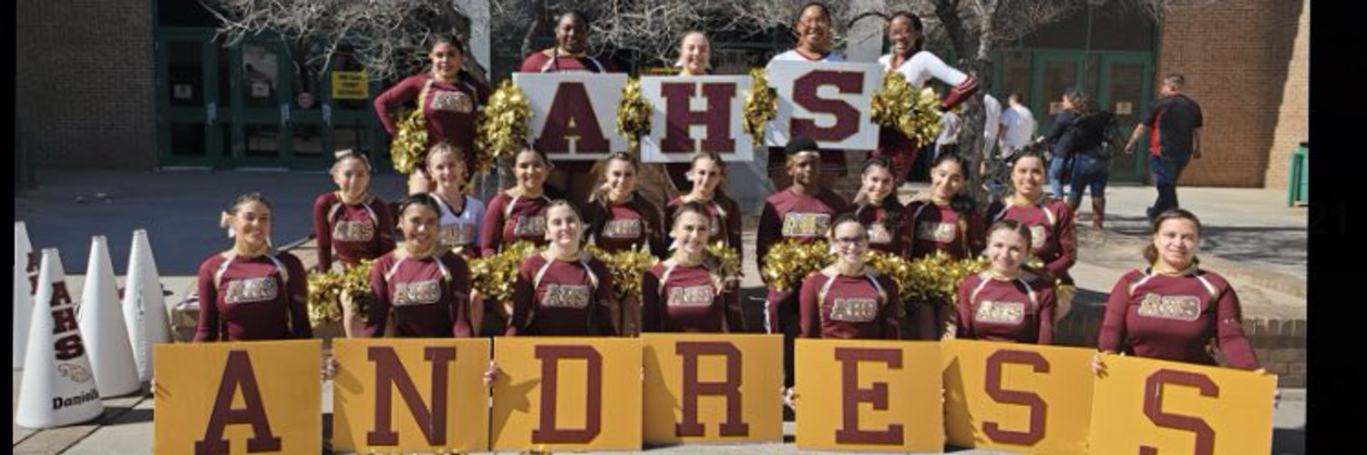 Official Twitter for the Andress High School Cheer Team 🦅📣❤️