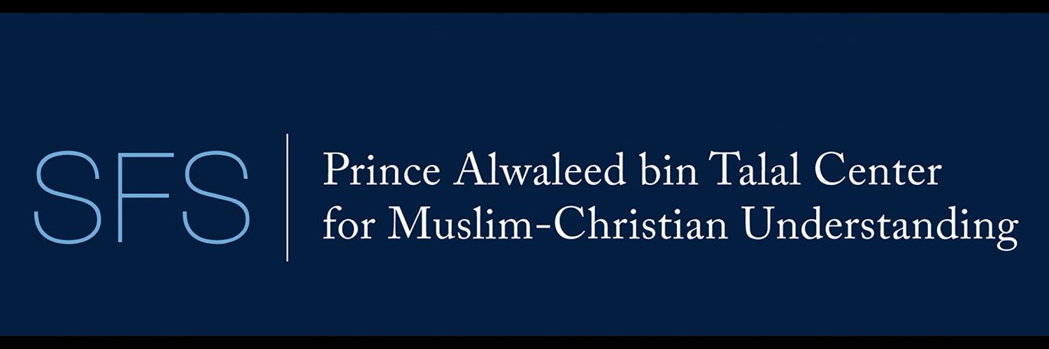 The Alwaleed Center for Muslim-Christian Understanding at the Edmund A. Walsh School of Foreign Service, Georgetown University. RTs ≠ endorsements