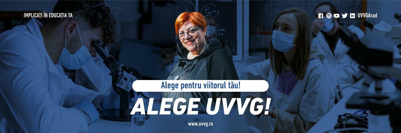 Universitatea de Vest Vasile Goldis din Arad's official Twitter account