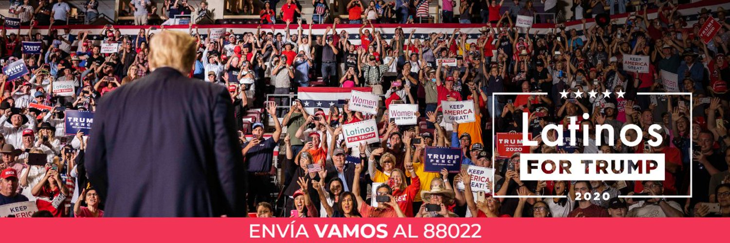 The official bilingual Twitter account for @realDonaldTrump's campaign. JOIN US! ¡ÚNETE AL EQUIPO! 🇺🇸
