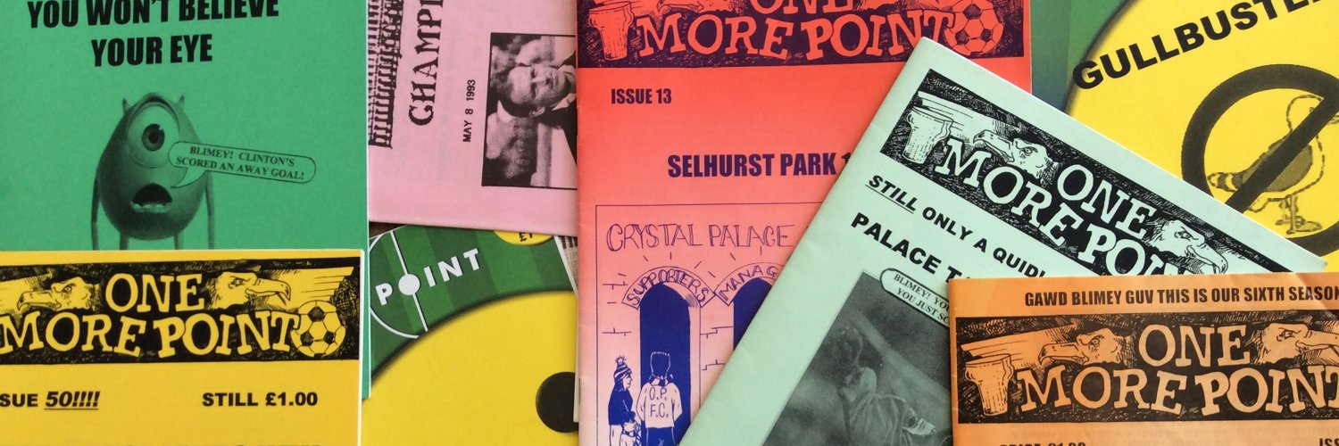 One of the original Palace fanzines. This account is a celebration of Crystal Palace FC, past and present.