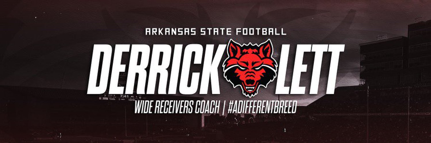 Father and Husband...Arkansas State WR Coach