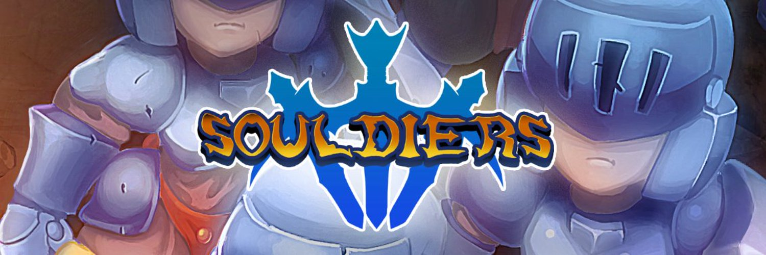 We are an indie game studio currently working on our first game: Souldiers