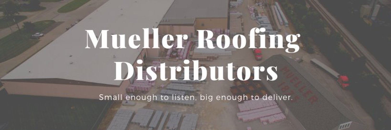 A 145-year-old family owned and operated company that supplies roofing, siding, windows, gutters, and more. #MuellerSince1875