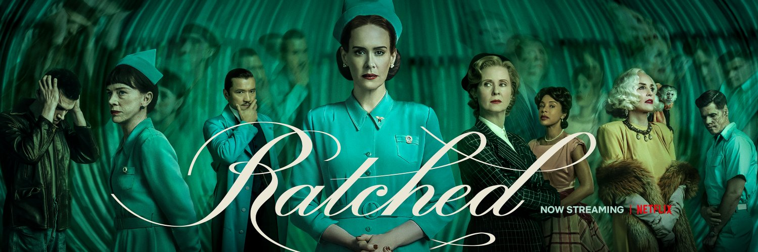 You deserve someone to show you mercy. Ratched is now streaming.