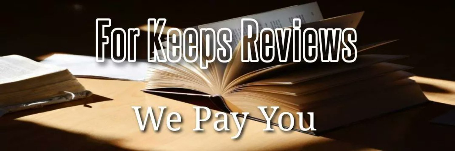 Some people want to be paid to review books. We understand, and would like to pay you $20 for every Amazon review. Contact us at forkeepsreviews@gmail.com.