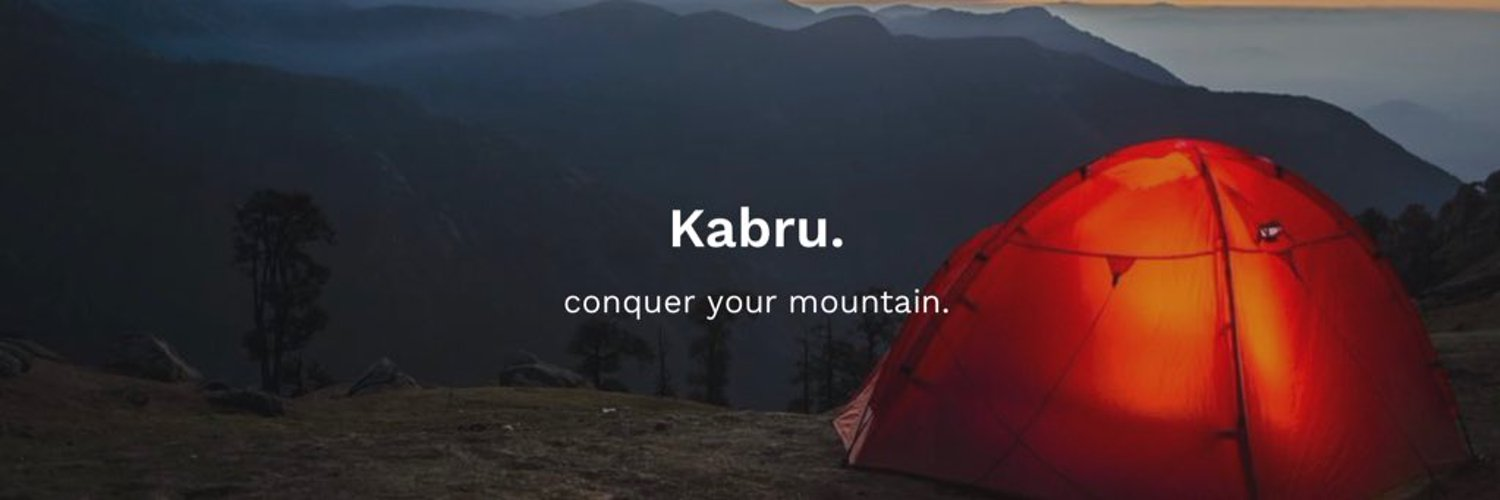 Kabru, an #outdoor #adventure clothing brand, based on the core values of sustainability and a passion for nature. #ExploreBeyond 🗺
