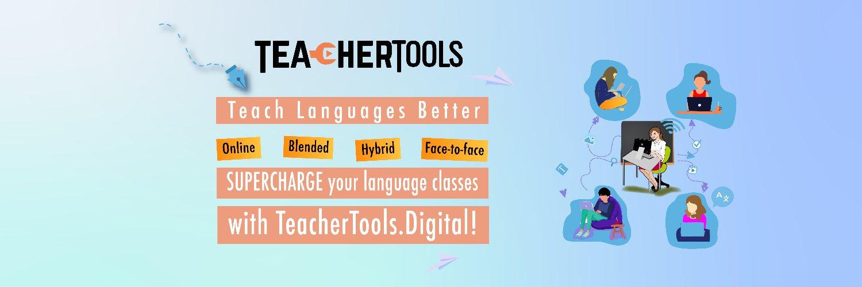 Teach Languages Better with TeacherTools.Digital #EFL #ESL #TESOL #ELT #langchat #eltchat #mfltwitterati