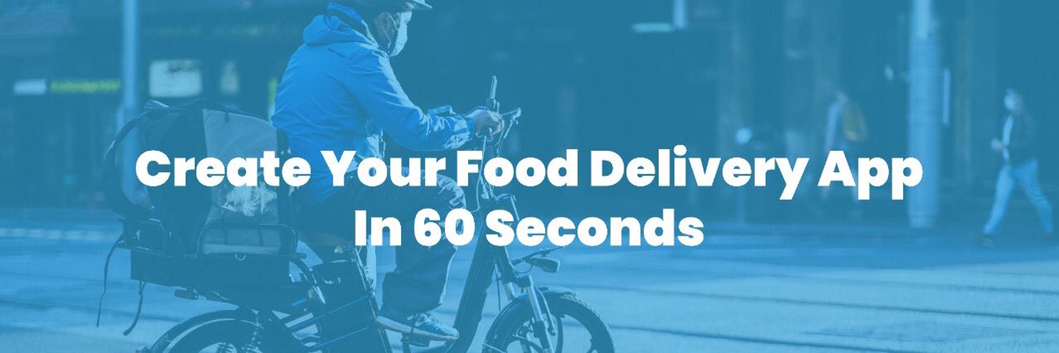 A food delivery software as a service platform that enables anyone to create a food delivery web application in 60 seconds