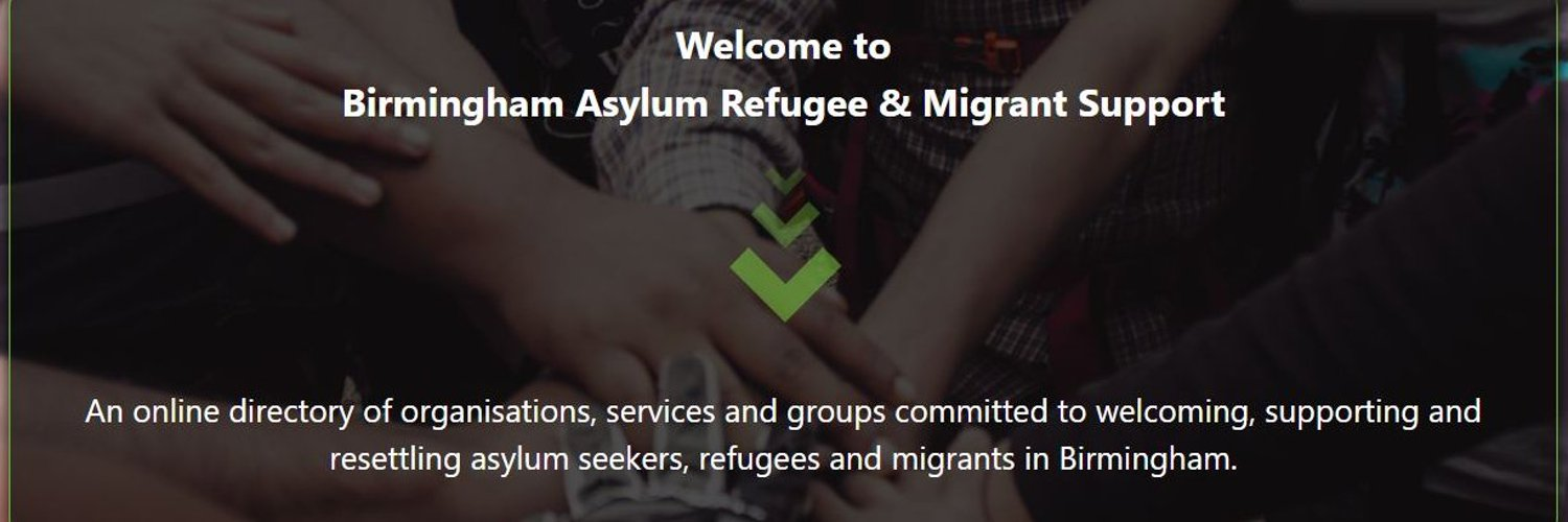 An online directory of organisations, services and groups committed to welcoming, supporting and resettling asylum seekers, refugees and migrants in Birmingham.