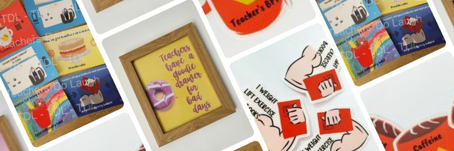 Teacher/Mummy. Creator of humorous stationery with a focus on positivity and wellbeing 🌈🌈🌈 shop here 👇👇👇.