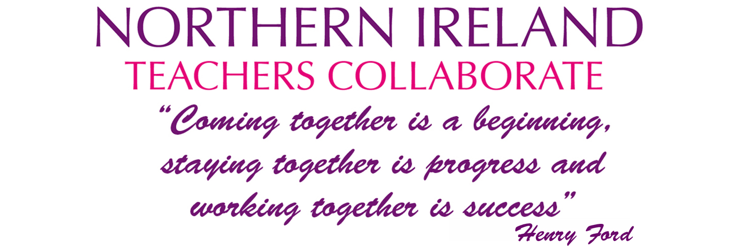 Bringing NI teachers together across early years, primary, post-primary, special, and Irish Medium schools to collaborate. #edutwitterNI #niteachers