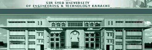 Sir Syed University of Engineering and Technology's official Twitter account