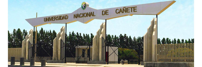 Universidad Nacional de Cañete's official Twitter account