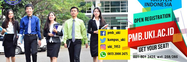 Universitas Kristen Indonesia's official Twitter account
