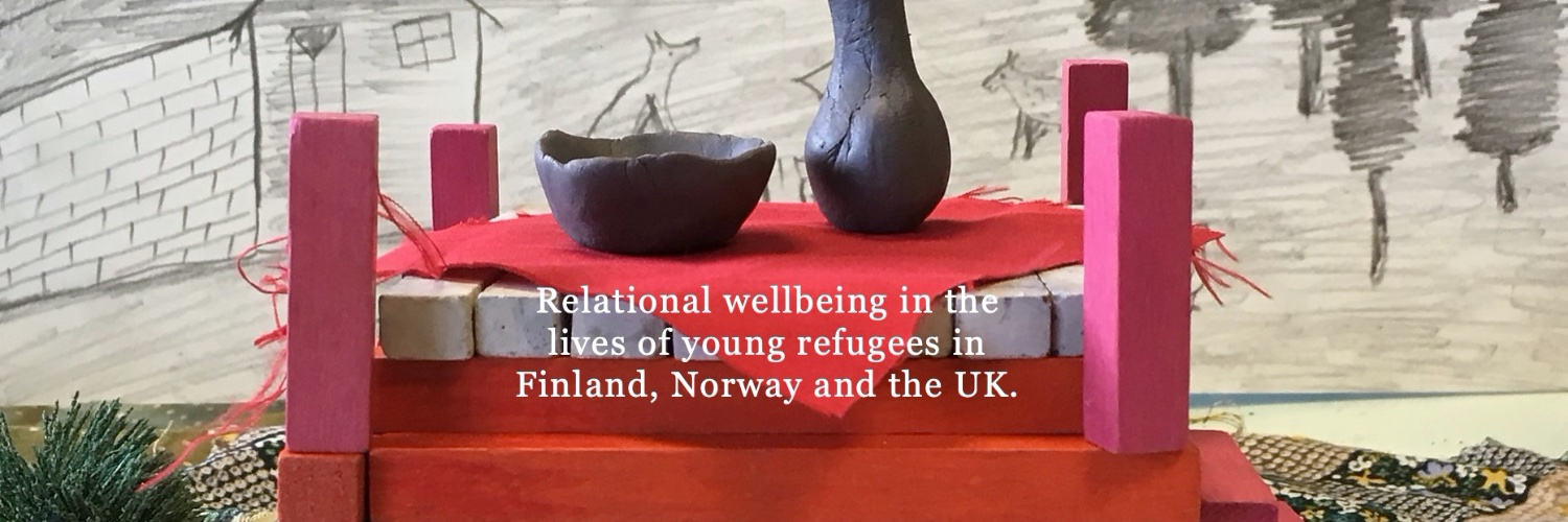 This project uses art and research to understand how former unaccompanied minors (now adults) rebuild their everyday life in Finland, Norway and the UK.