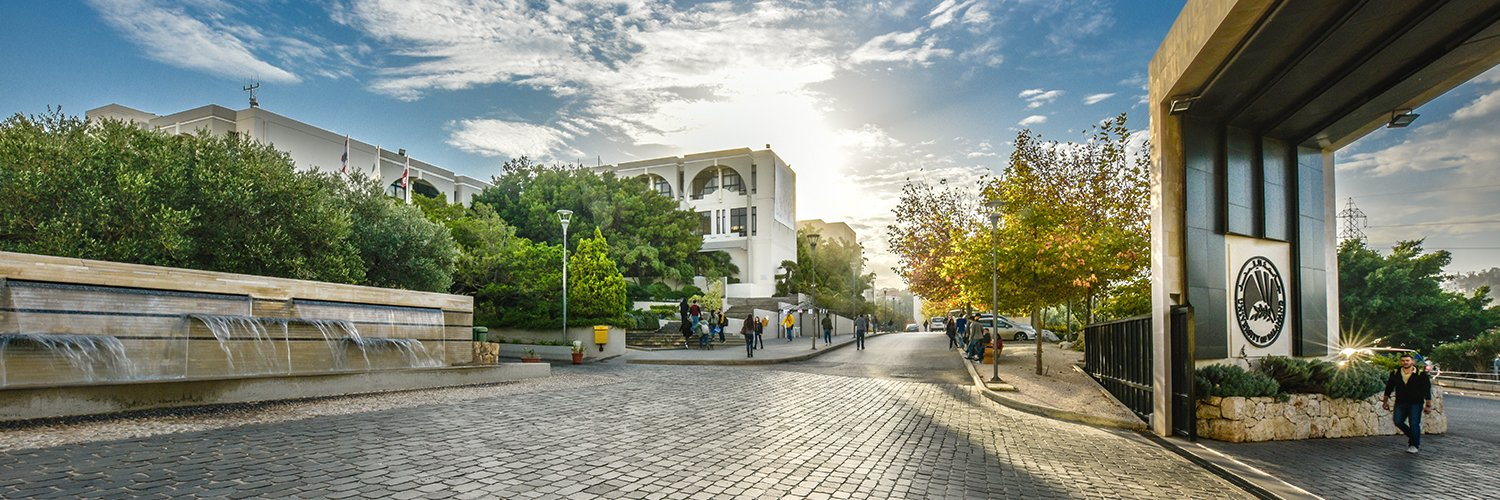 University of Balamand's official Twitter account