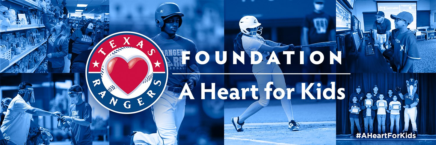Improving lives and bringing meaningful change to our DFW community through the power of Texas @Rangers community initiatives. #AHeartForKids
