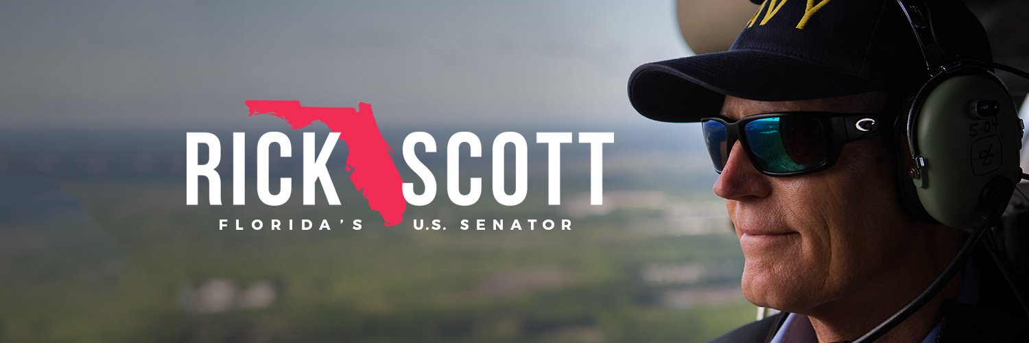 Senator from the great state of Florida. Fighting for Florida families and to Make Washington Work. #LetsGetToWork instagram.com/flsenrickscott