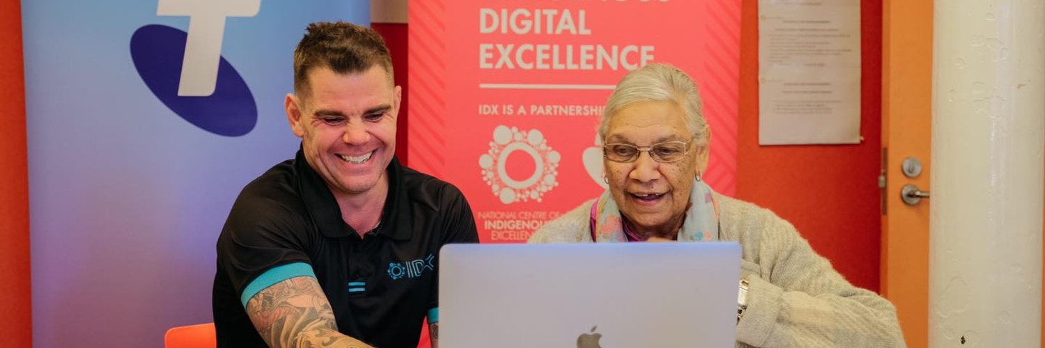 The IDX Initiative was co-founded and designed by @theNCIE & Telstra Foundation to unlock digital opportunities for Indigenous Australians. #IndigenousDX