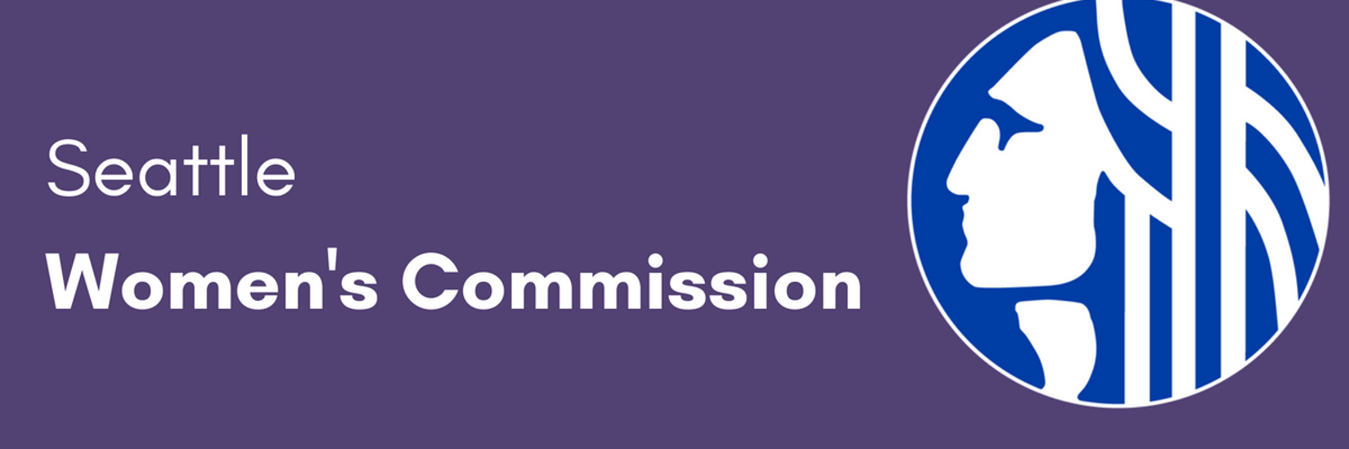 The Seattle Women's Commission identifies and recommends policy items concerning women to Seattle's Mayor, City Council, and City Departments.