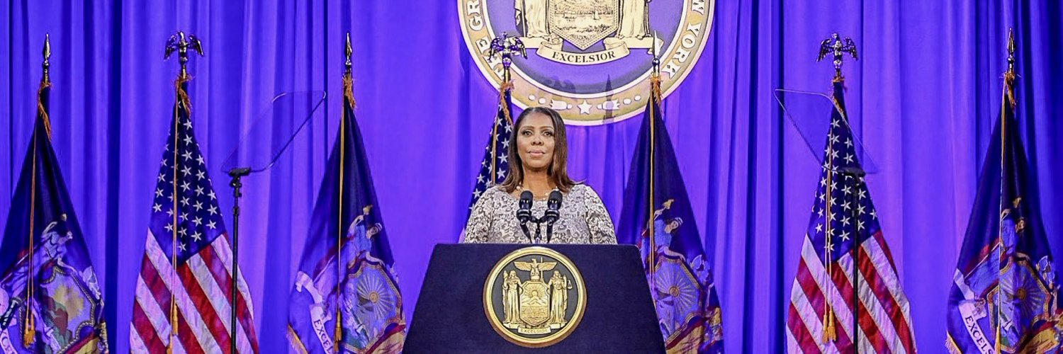 Official Twitter account of New York Attorney General Letitia James' Office.