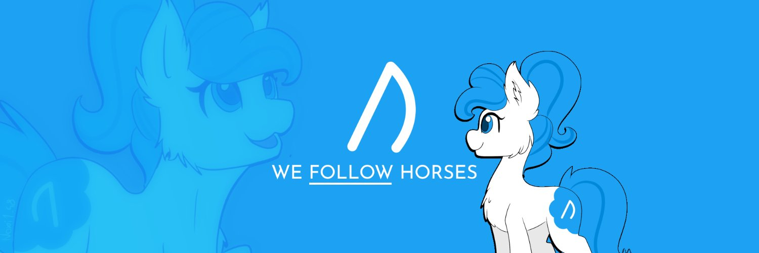 We follow horses in the Horse Fandom, because every horse deserves to be known. Better version of @HorseFame #HorseVerified, for real! /) Mascot by @Noxi1_48 💙