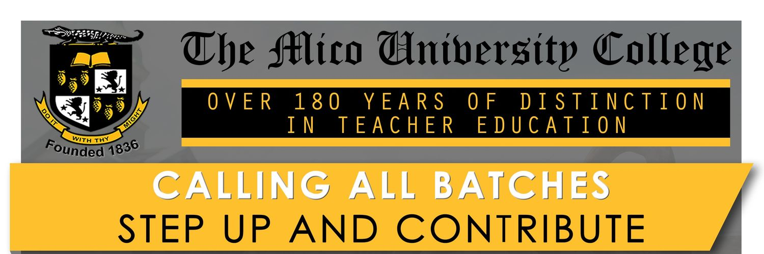Mico University College's official Twitter account