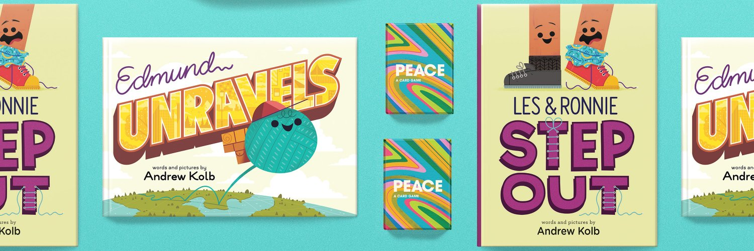 Illustrating and keepin' it clean since '86. He/Him. PEACE: A Card Game, Les & Ronnie Step Out, and Edmund Unravels are out now. Like right right now!