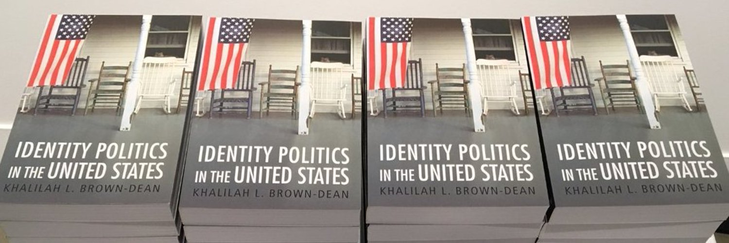 Join us tomorrow (11/12) at 6 p.m. @QuinnipiacU for a conversation w/@KBDPHD about her new book Identity Politics in the United States. Hope to see you there! allevents.in/hamden/explori…
