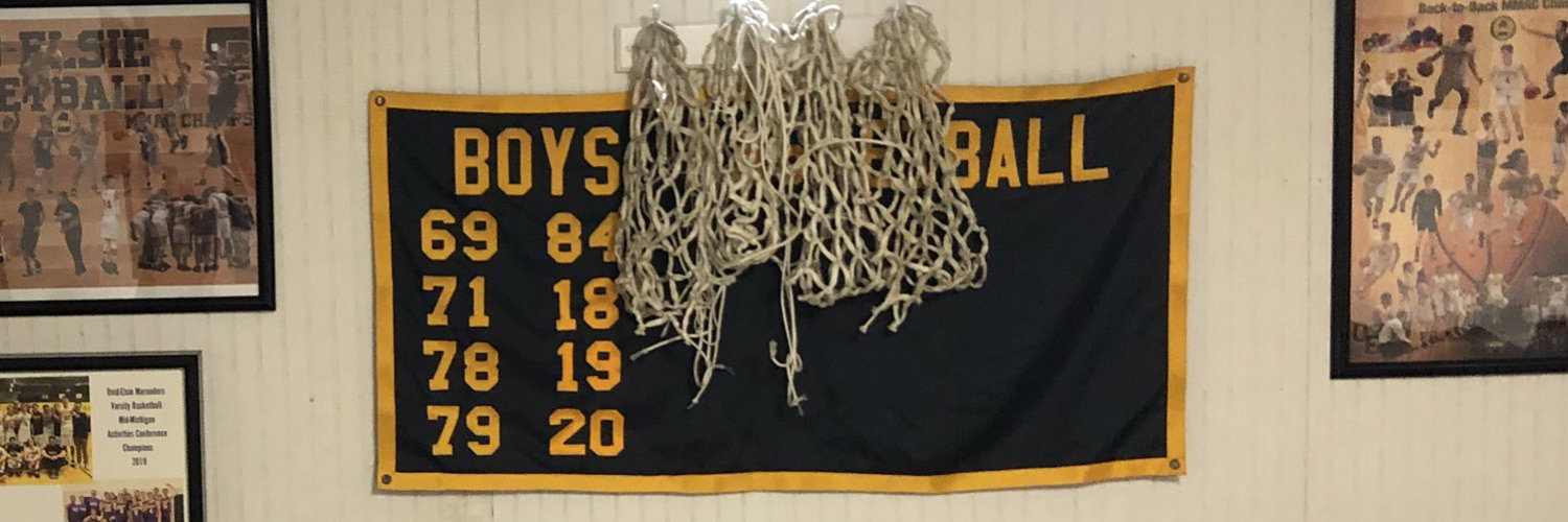 Ovid-Elsie High School Boys Varsity Coach - There are no secrets to success. It is the result of preparation, hard work, and learning from failure.