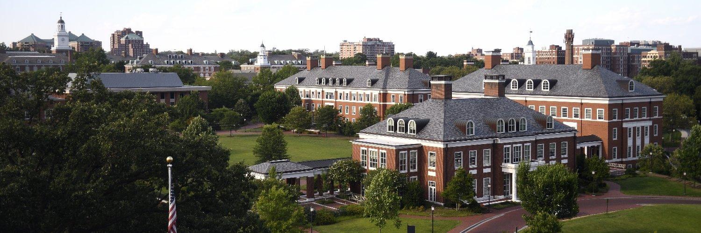 Johns Hopkins University's official Twitter account