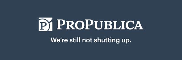 ProPublica Profile Banner
