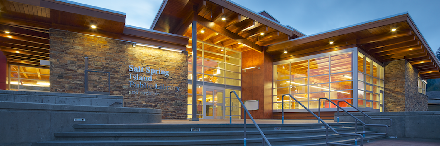 Cover photo for Salt Spring Island Public Library