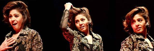 @SunidhiChauhan5 in her full form and energetic mood! What a rendition. Thank you @SachinJigarLive twitter.com/ZeeMusicCompan…