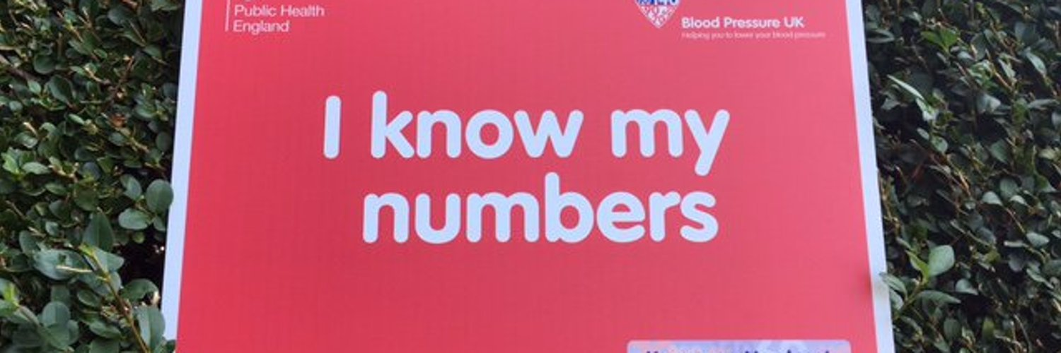 Blood Pressure - You're Going Down! Know Your Numbers! Week 2020 7-13 September #KnowYourNumbers