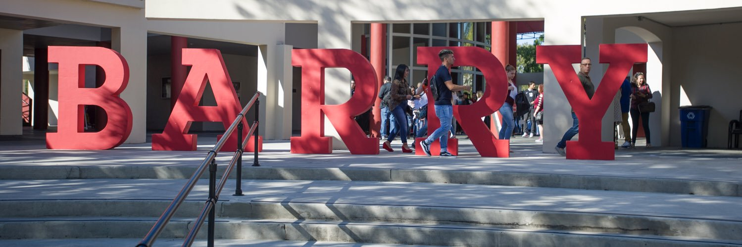 Barry University's official Twitter account