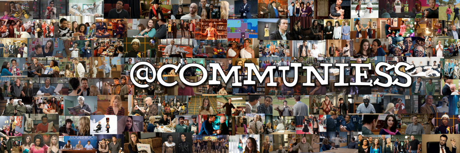 Join the family of Community fans! We are here to post news, your Community obsessed tweets & anything Community related. Hosted by a lovable group of misfits.