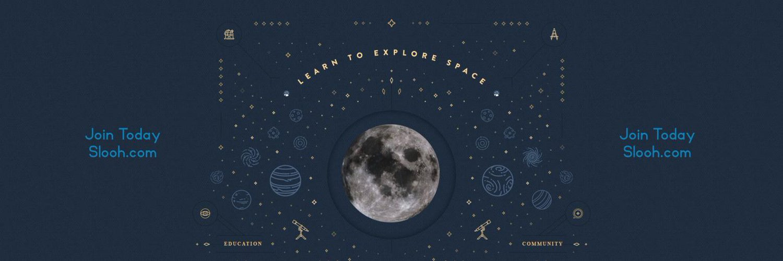 Explore space via Slooh's online telescope network! Join as members via slooh.com 🔭