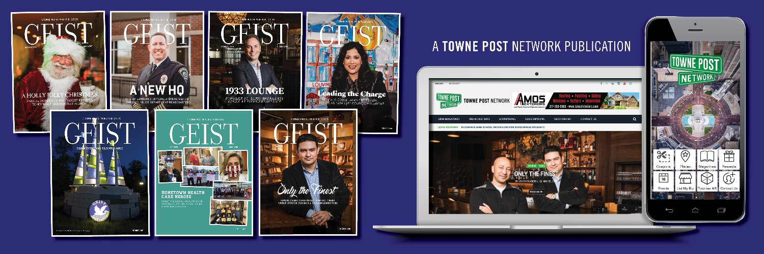 A @TownePost magazine that is #SpotlightingLocal by sharing positive news and supporting the local community. Direct Mail + Web + Digital + Social
