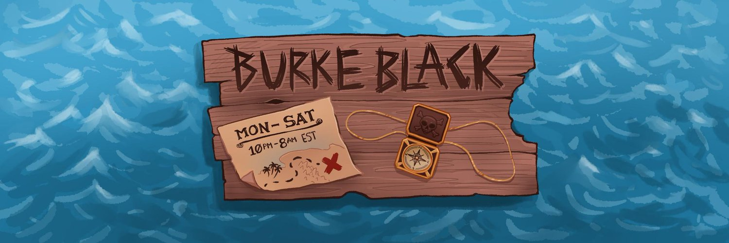 Pirate Captain, @twitch Partner, and seeker of awesome people Email: burkeblack@opg.tv burkeblack.tv