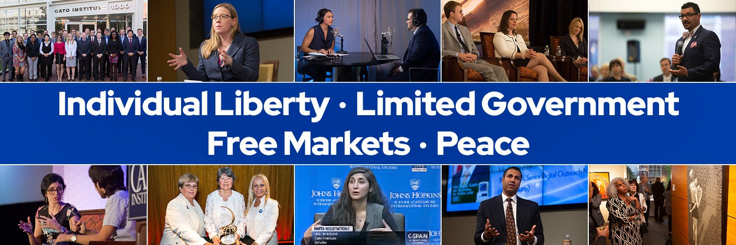 A public policy research organization dedicated to individual liberty, limited government, free markets, and peace.