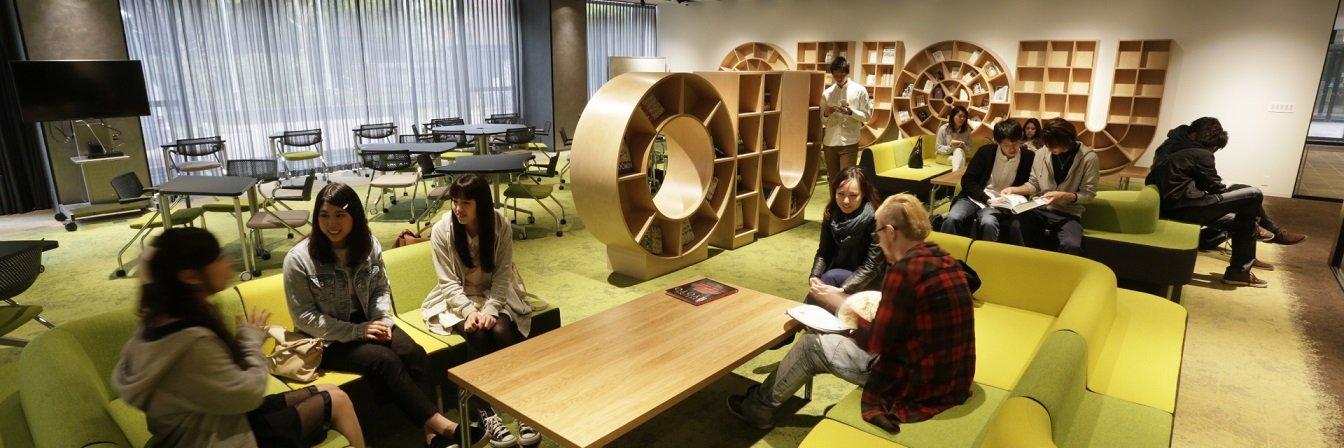 Osaka International University's official Twitter account