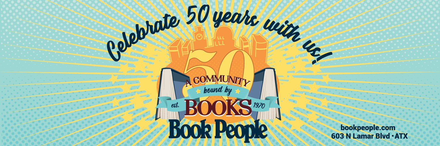 The largest independent bookstore in Texas. A community bound by books.
